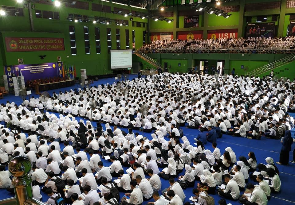Selamat Datang 4.620 Mahasiswa Baru USM tahun akademik 2018/2019